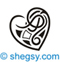 irish celtic heart tattoo